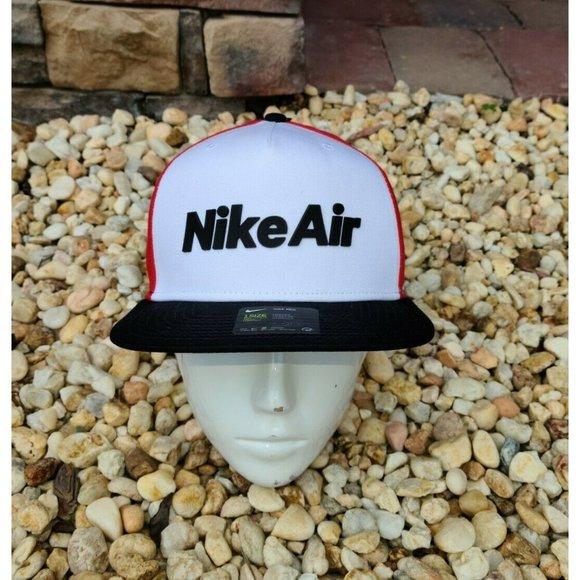 Nike Air Pro Capsule Snapback Adjustable White red